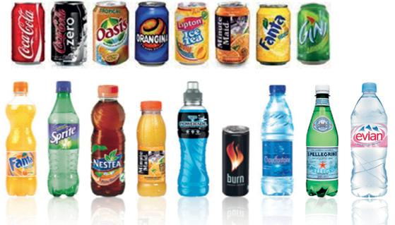 sucre contenu dans les boissons